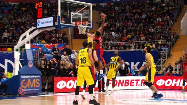Euroleague: Top 10 plays from Round 8