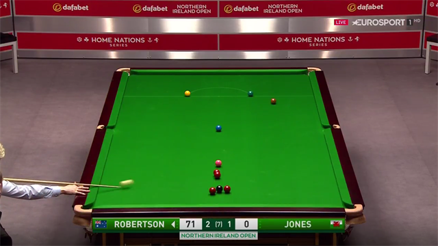 Robertson's delightful double