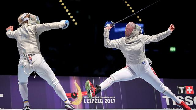 Hungary's Andras Redli and Team Russia win gold at Men's Epee World Cup in Legnano