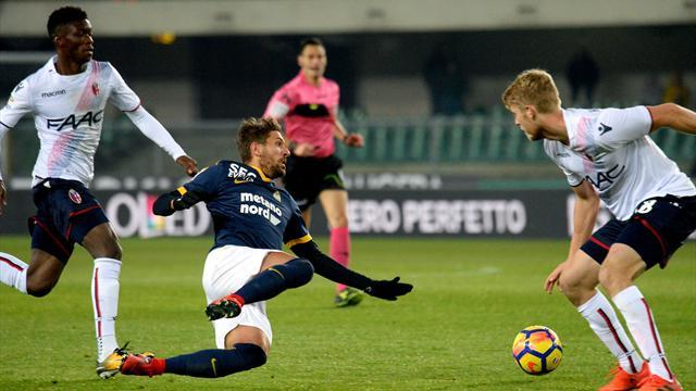 Verdi-Nagy, Bologna all'inglese: 2-0 sull'Hellas Verona e obiettivo salvezza ormai centrato