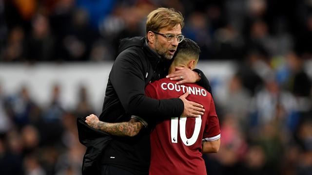 Klopp: Liverpool had no option but to sell Coutinho