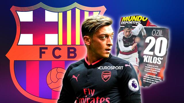 Euro Papers: Ozil sets Barca ultimatum amid talk of €20m January move