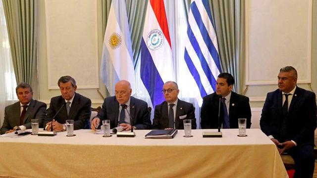 Cumbre de dirigentes en Asunción por el Mundial 2030