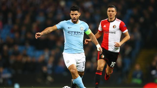 Team news: Aguero and Sane start for City, Zabaleta to captain West Ham