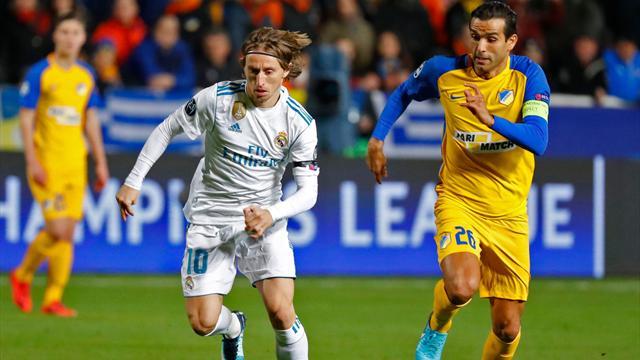 Modric latest La Liga player to be accused of tax fraud