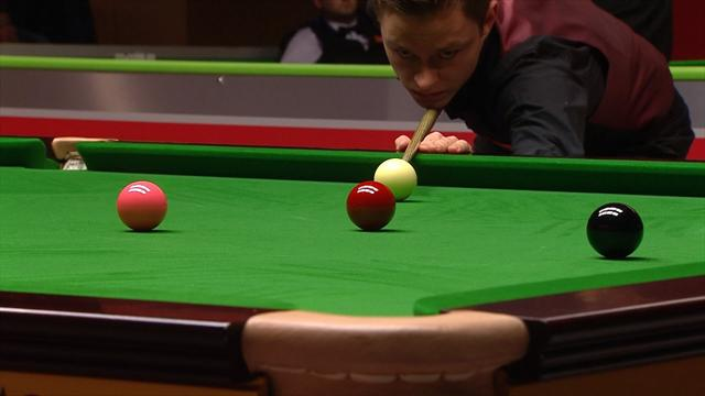 A stunning 137 from the world number 127: Kleckers is a German snooker star in the making
