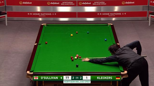 O'Sullivan with a glorious double in Belfast
