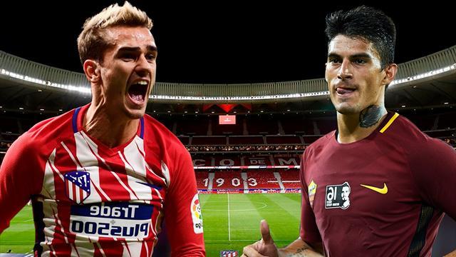 Champions League 2017/18, Atlético-Roma: La previa en 60 segundos