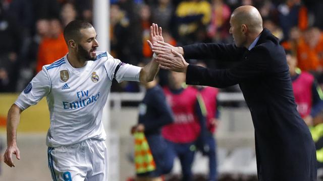 Zidane : «Je veux que Benzema soit à 200%»