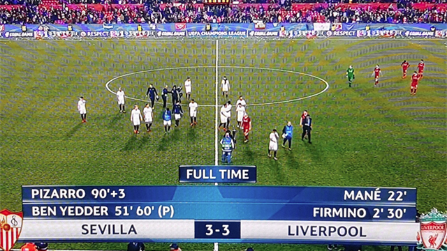 Liverpool rimontato da 3-0 a 3-3, Ben Yedder la dedica al Milan