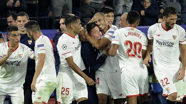 Champions League, NK Maribor-Sevilla: ¡Va por ti Toto! (1-1)
