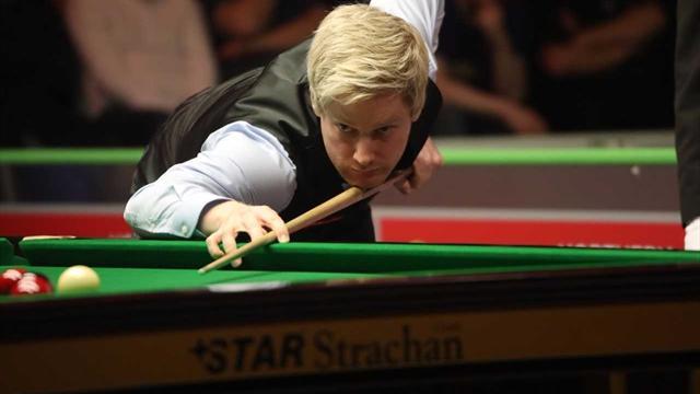 Robertson entthront Titelverteidiger Selby im Top-Match
