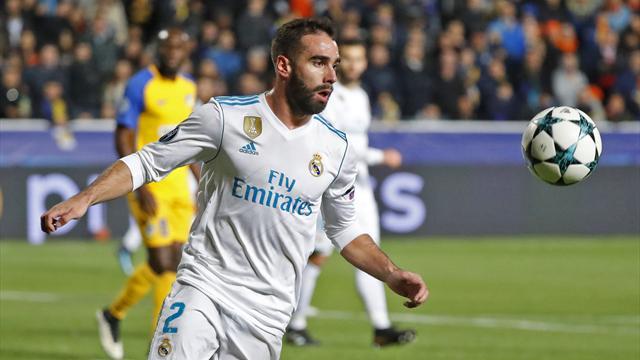 Gelbe Karte provoziert: UEFA sperrt Real-Star Carvajal für ein weiteres Spiel