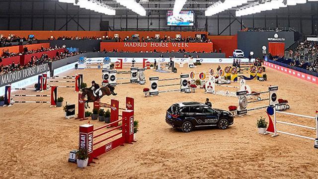 La coupe du monde de saut d obstacles se poursuit madrid equitation eurosport - Coupe du monde de saut d obstacle ...