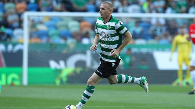 Mathieu prolonge jusqu'en 2020 au Sporting