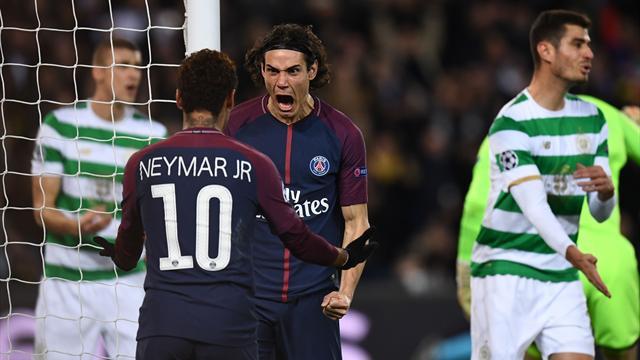 Neymar, Cavani, Mbappé... Tous les buts de la démonstration du PSG face au Celtic (7-1)