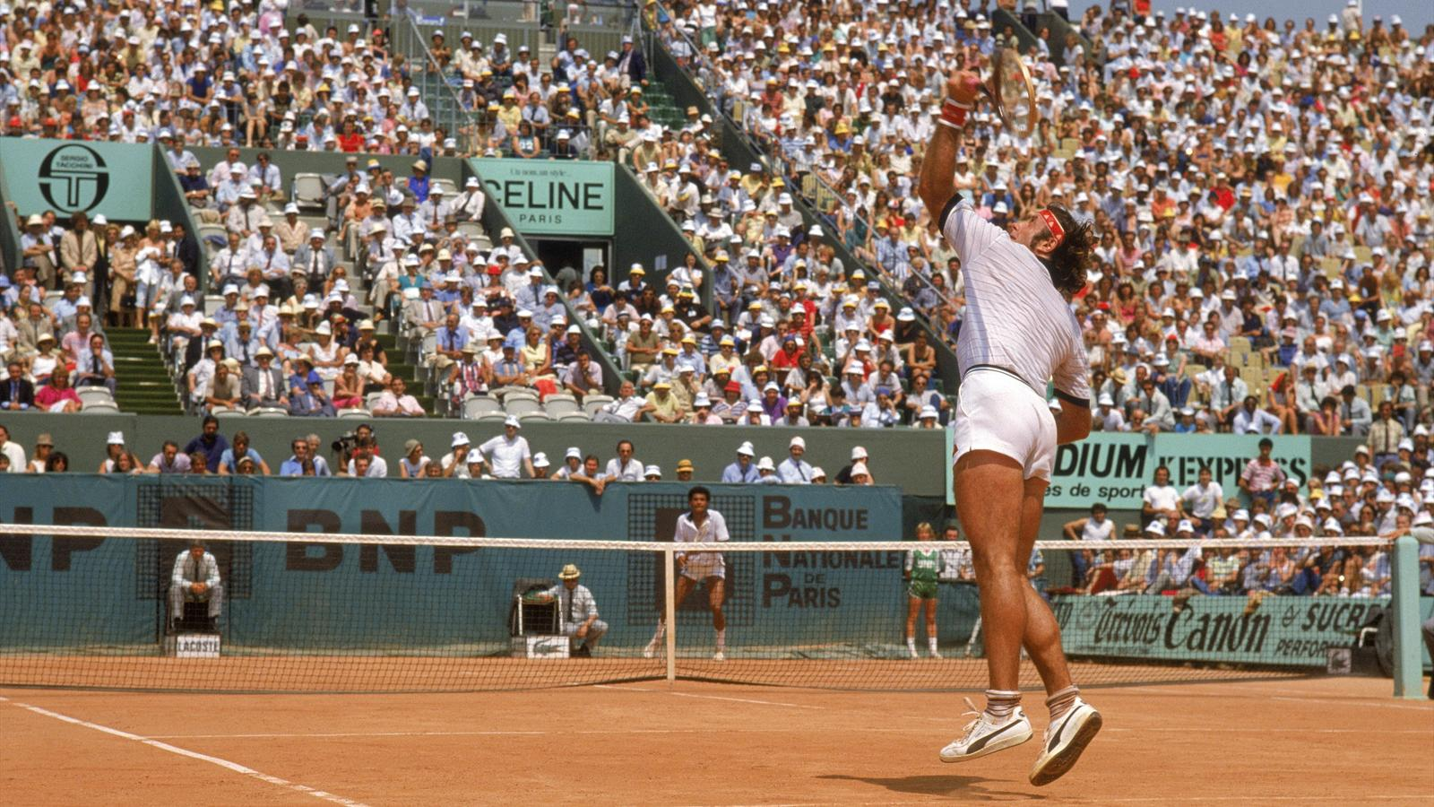 The dazzling and historic season of Guillermo Vilas in 1977