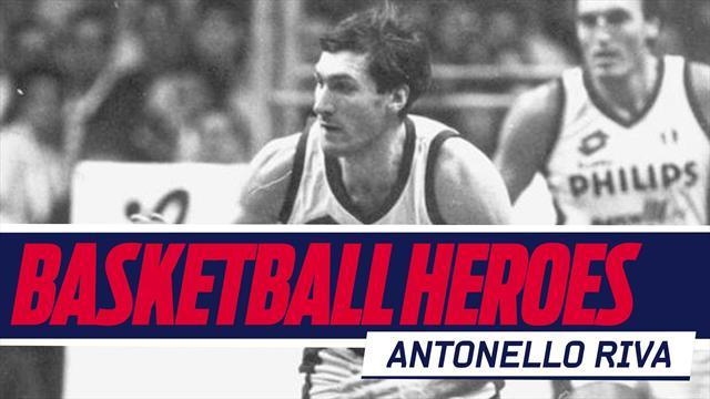 Basketball Heroes: Antonello Riva, il miglior bomber di sempre in Serie A