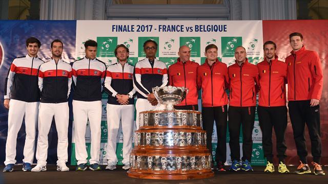 Copa Davis, Francia-Bélgica: El gallo y la gallina de los huevos de oro