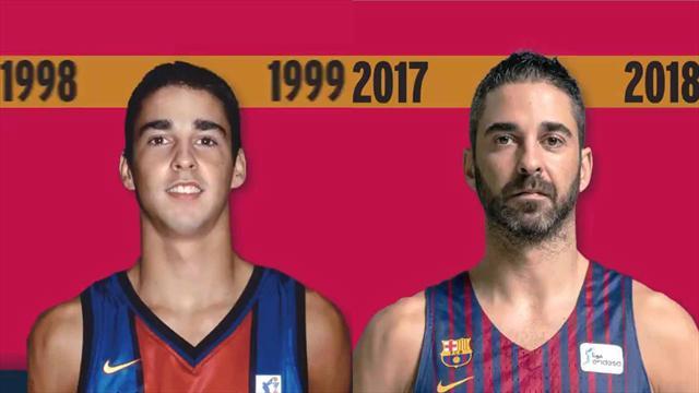 La evolución de Juan Carlos Navarro 20 años después de su debut