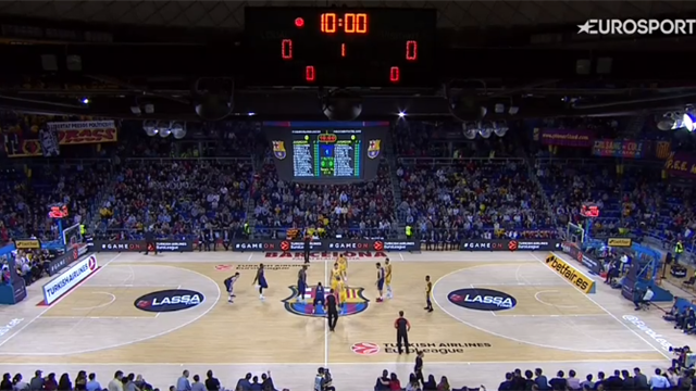 Highlights: Barcellona Lassa-Maccabi Fox Tel Aviv 89-67