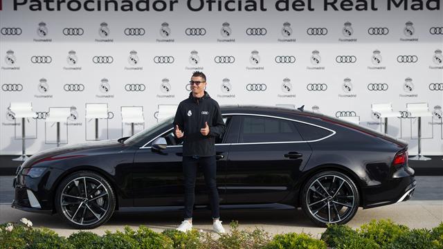 A Zidane la plus puissante, à Ramos la plus chère : les joueurs du Real ont choisi leur Audi