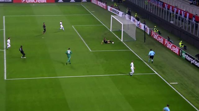 """Bonucci au Milan, ce n'est toujours pas ça : son énorme """"fail"""" contre l'Austria Vienne"""