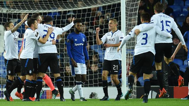 Everton's woes deepen as Atalanta hit five