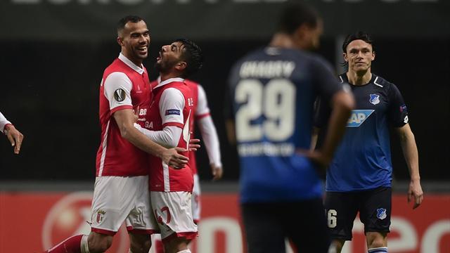 """""""Nicht gut genug"""": Hoffenheim kassiert Europa-Knockout in Braga"""