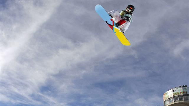 Snowboarderinnen sichern sich halbe Olympianorm