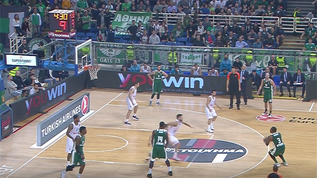 Highlights: Panathinaikos Superfoods Atene-Real Madrid 82-80