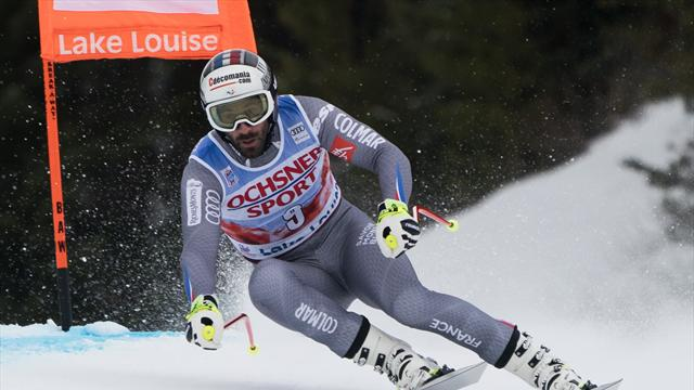 Mourning Theaux tops downhill practice at Lake Louise