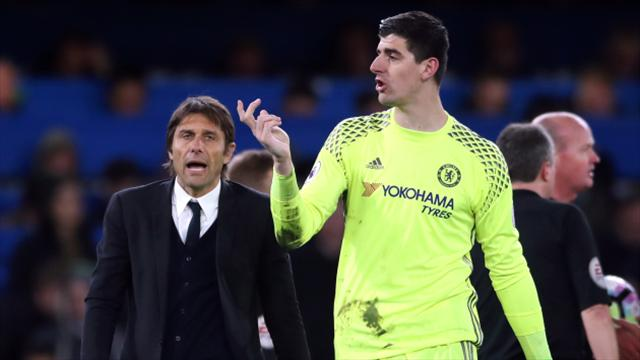 Antonio Conte wants Thibaut Courtois contract situation resolved