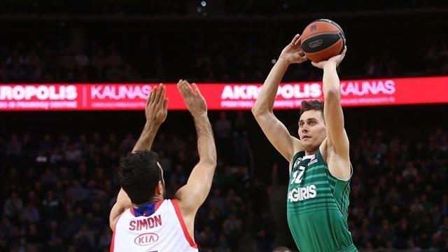 EuroLeague'de haftanın MVP'si Ulanovas