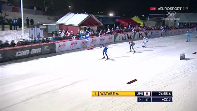Stark! Rydzek sprintet nach Sturz auf dritten Platz