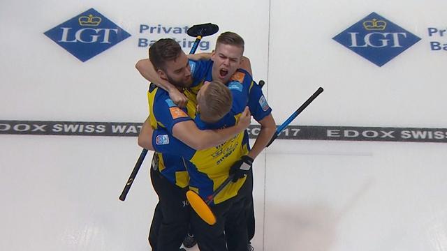 Schwedens Curler holen viertes EM-Gold in Folge