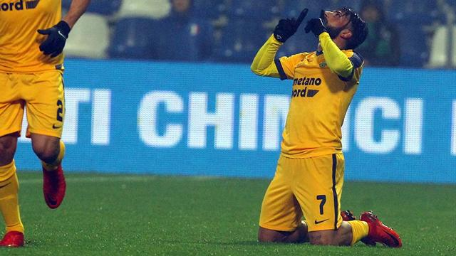Sassuolo-Hellas Verona 0-2, Zuculini e Verde espugnano il Mapei