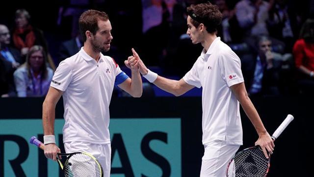 2-1. Francia acaricia su décima Copa Davis