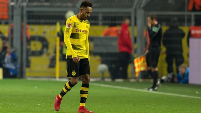Aubameyang non retenu par le Borussia
