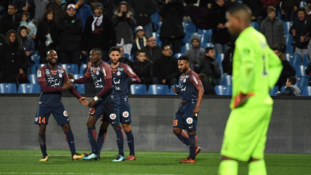 Lille explose à Montpellier, Bordeaux s'enfonce à Caen