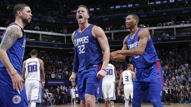 Les Clippers devront faire sans Griffin pendant deux mois