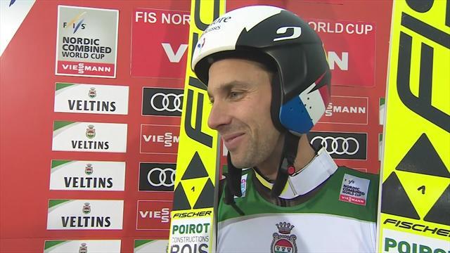 Ruka: Entrevista con Maxime Laheurte tras ganar en Salto de Trampolín