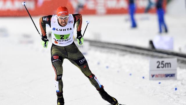 """""""Bin megahappy!"""" Rydzek sprintet auf Platz zwei"""