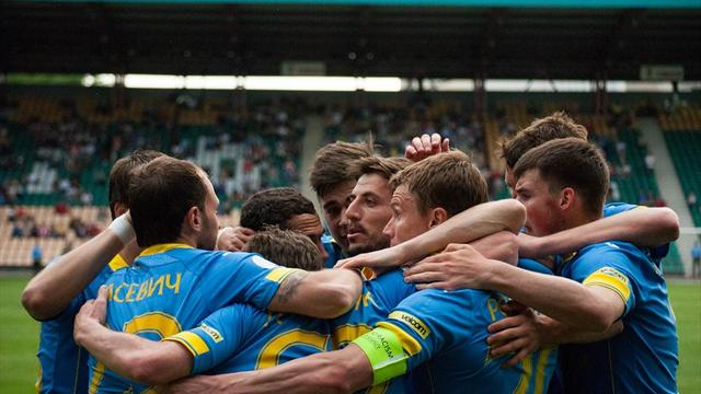 БАТЭ стал чемпионом Белоруссии, забив на 95-й минуте решающего матча