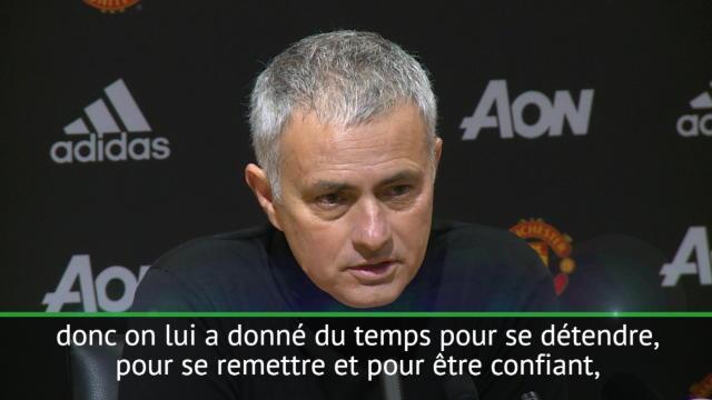 Man Utd : Martial, un changement avec Mourinho