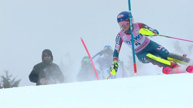 Shiffrin sets pace in Killington slalom
