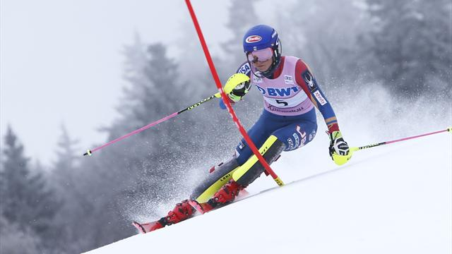 Olympia - Ski Alpin: Slalom der Frauen live im TV und im Livestream