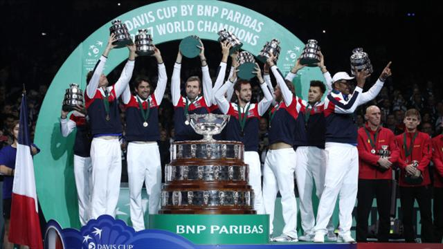 Davis Cup final: France beat Belgium to claim title in deciding match