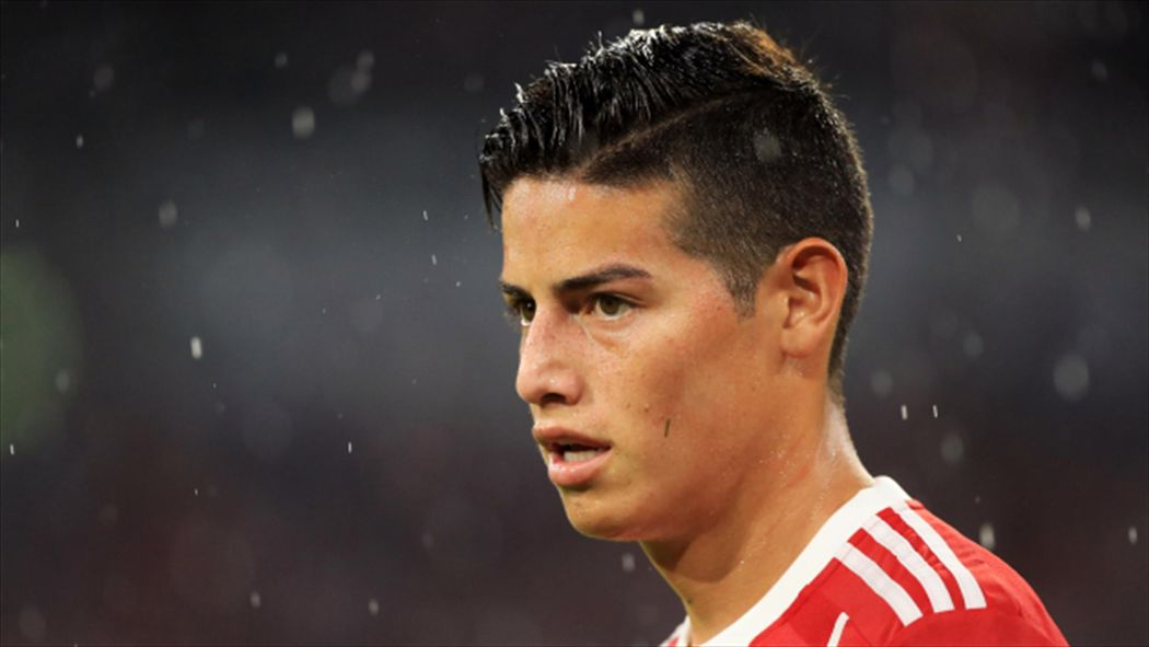 Bayerns James Rodriguez Recovering From Concussion He Suffered Against Gladbach