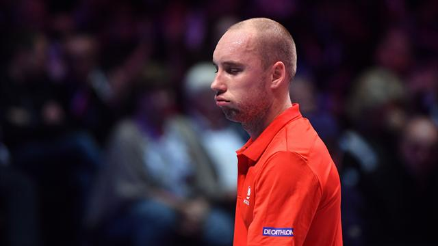 "Darcis scolds himself as ""appalling"" in Belgian loss"